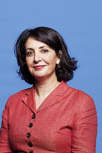 Khadija Arib - Khadija Arib in 2012