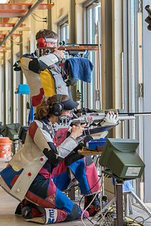 ISSF 300 meter rifle three positions