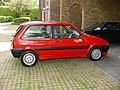 316 - Paula Ham's 1990 red Rover Metro GTi, side (2).jpg
