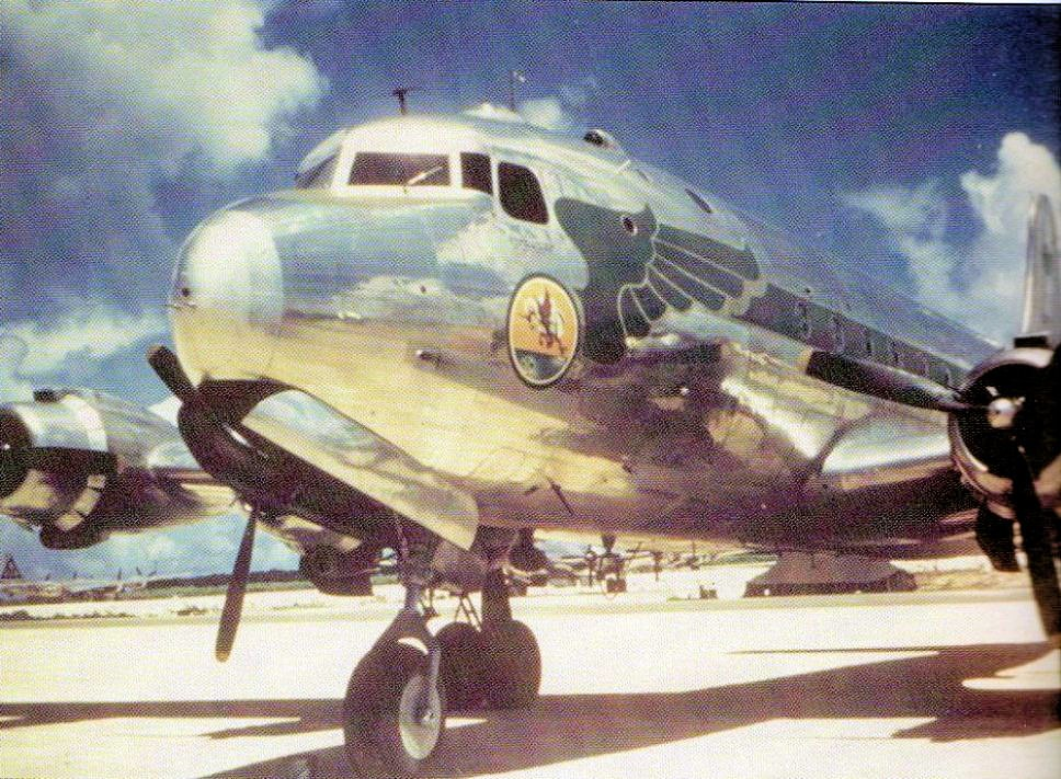 320th Troop Carrier Squadron C-54 Color