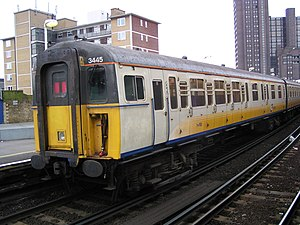 Connex South Eastern - Class 423/1 at Waterloo East on 8 February 2003