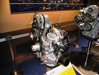 Mazda Wankel engine - 3A rotary engine, originally intended for the Chantez