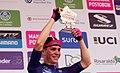 3 Etapa-Vuelta a Colombia 2018-Ciclista Sergio Higuita Ganador Etapa Podio.jpg