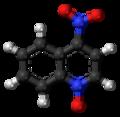4-Nitroquinoline 1-oxide 3D ball.png