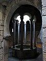 407 Banys Àrabs de Girona, la piscina de l'apodyterium des de l'atri.JPG