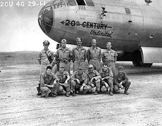 Chengdu Shuangliu International Airport - Image: 40th Bombardment Group Boeing B 29 5 BW Superfortress 42 6281