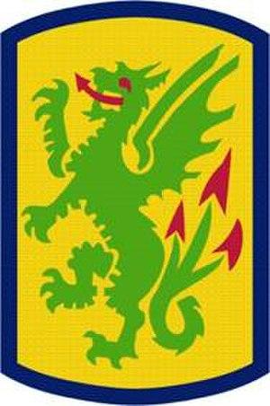 415th Chemical Brigade (United States) - Brigade Shoulder Sleeve Insignia