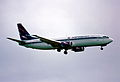 41ab - Aeroflot Boeing 737-4M0; VP-BAN@ZRH;09.10.1998 (4973832299).jpg
