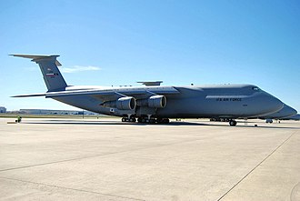 Kelly Field Annex - 433d AW (AFRC) C-5 Galaxy aircraft at Kelly Field Annex.