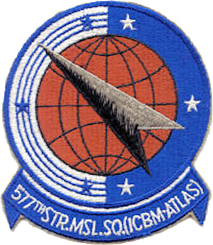 577th Strategic Missile Squadron - Image: 577th Strategic Missile Squadron SAC Emblem