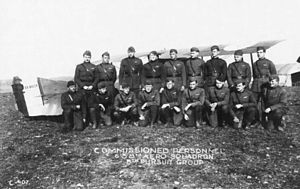 638th Aero Squadron - 638th Aero Squadron, pilots, Lay-Saint-Remy Aerodrome, France, November 1918