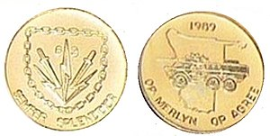 63 Mechanised Battalion Group - 63 Mech commemorative medal for South West Africa operations