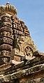 6th - 8th century Hucchimalli Temple, Nataraja Shiva on shikara spire, Aihole Hindu monuments Karnataka 2.jpg