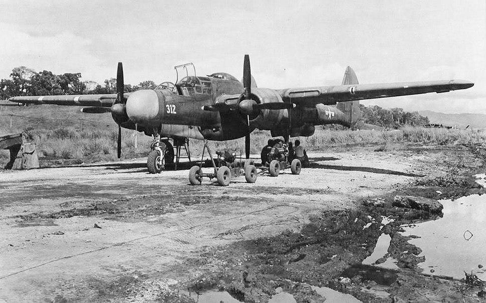 6th Night Fighter Squadron P-61 Black Widow