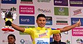 7 Etapa-Vuelta a Colombia 2018-Ciclista Jonathan Caicedo-Lider Clasificacion General.jpg