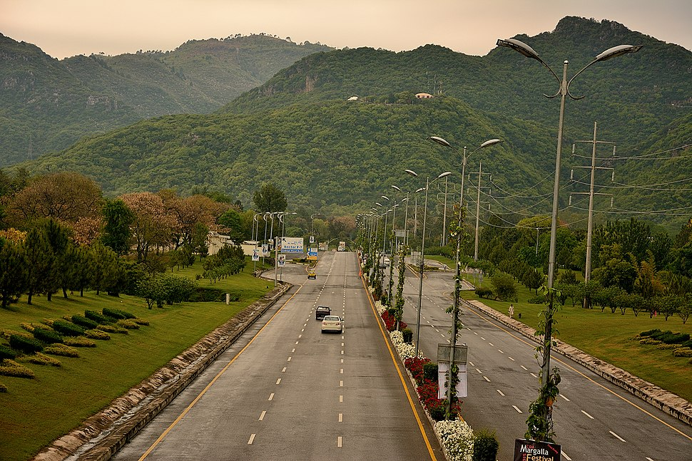 7th Avenue Islamabad - a different view