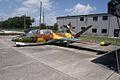 Aérospatiale Fouga CM.170-1 Magister LSideFront KAM 11Aug2010 (14980846571).jpg