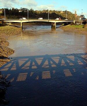 Murder of Joanna Yeates - Image: A370 bridge crossing the River Avon geograph.org.uk 130044