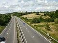 A4042 from Pillmawr Road bridge - geograph.org.uk - 1439730.jpg
