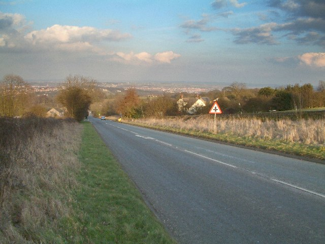A632 Matlock to Chesterfield road
