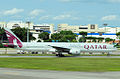 A7-BAF B777-3DZER Qatar Airways (8215840205).jpg