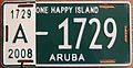 ARUBA 2008 -LICENSE PLATE - Flickr - woody1778a.jpg