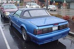 Asc Mclaren Ford Mustang