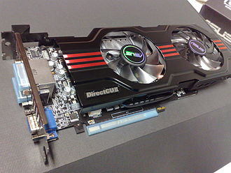 GeForce - Asus Nvidia GeForce GTX 650 Ti, a PCI Express 3.0 ×16 graphics card