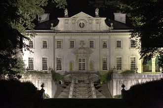 Atlanta History Center - The Swan House at night