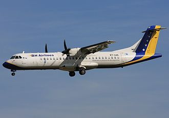 B&H Airlines - Image: ATR ATR 72 212, B & H Airlines AN1618156