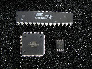 AVR microcontrollers family of microcontrollers