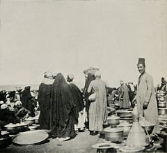 A Coppersmith's Stall at the Gizeh Market. (1911) - TIMEA.jpg