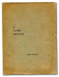 A Lume Spento cover