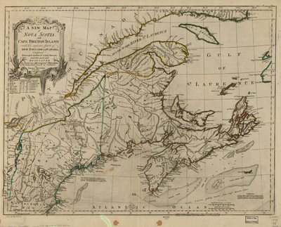 Expulsion Of The Acadians Wikipedia - Map of loyalists leaving us