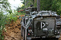 A Slovenian soldier provides security on a hillside at Hohenfels Training Area, Germany, Sept 140904-A-ZZ999-007.jpg