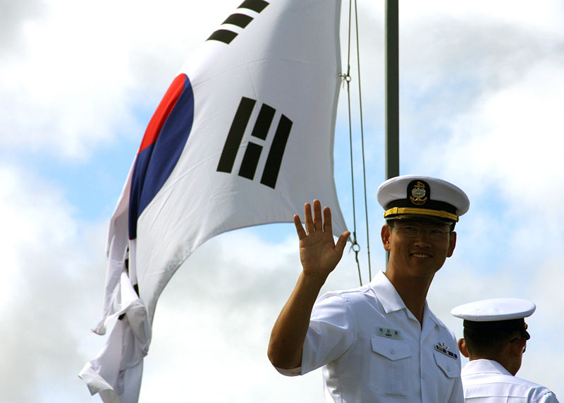 File:A South Korean navy petty officer.jpg
