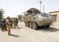 A U.S. Army Stryker armored vehicle navigates the streets of Shinkai district in Zabul province, Afghanistan, Aug. 27, 2012 120827-N-OH262-991.jpg