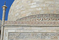 A close up view of the Taj Mahal's dome and the platform supporting it..jpg