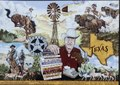 A downtown mural, by western artist Stylle Read, in San Angelo, the seat of Tom Green County, Texas LCCN2014631382.tif