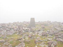 A foggy day on the summit of Baurtregaum, Slieve Mish - geograph.org.uk - 332923.jpg