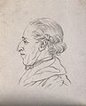 """A man whose physiognomy reveals a """"sage, honorable, sprightl Wellcome V0009248ER.jpg"""