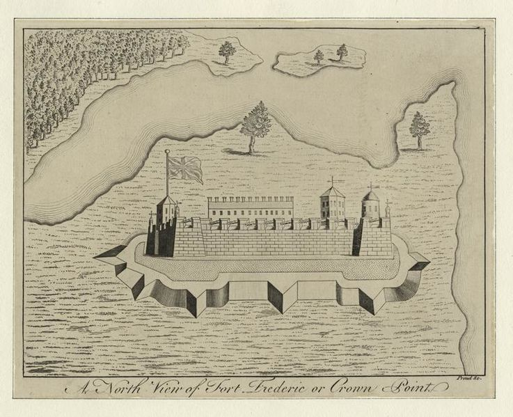 File:A north view of Fort Frederic or Crown Point. (3989960353).jpg