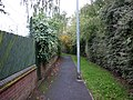 A path leading to Wentworth Way, East Hull - geograph.org.uk - 2067674.jpg