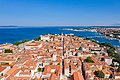 A view to the historical center of Zadar, Croatia surrounded by the Adriatic Sea (48607828812).jpg