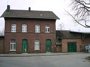 Brand (Aachen) - Former train station on the Vennbahn