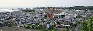 Abashiri, Hokkaido - View of Abashiri City