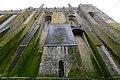 Abbey - Mont Saint Michel Abbey walls (32081531194).jpg