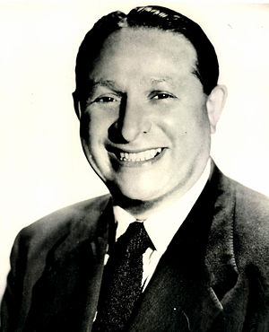 Abe Saperstein - Saperstein, circa 1950s