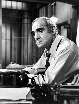 Abe Vigoda - Vigoda as Phil Fish in Barney Miller in 1977