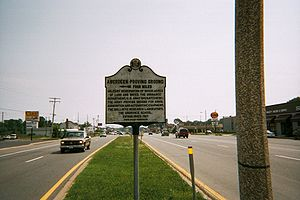 Aberdeen Proving Ground - Aberdeen Proving Ground Historical Marker on US 40